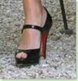 Jessica Alba CL foot