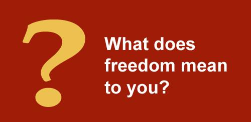 freedom quotations