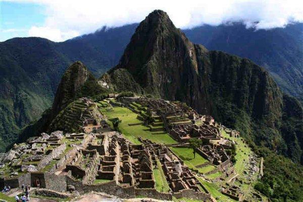 Maya ruïnes in Peru
