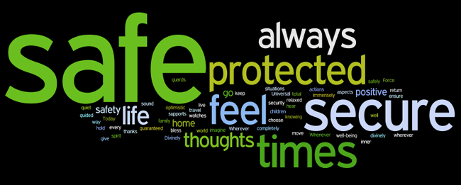 security and safety affirmations wordle