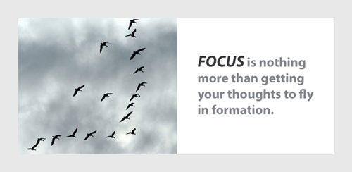 focus quotation