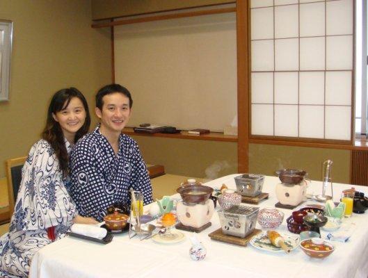 加賀屋晚餐4